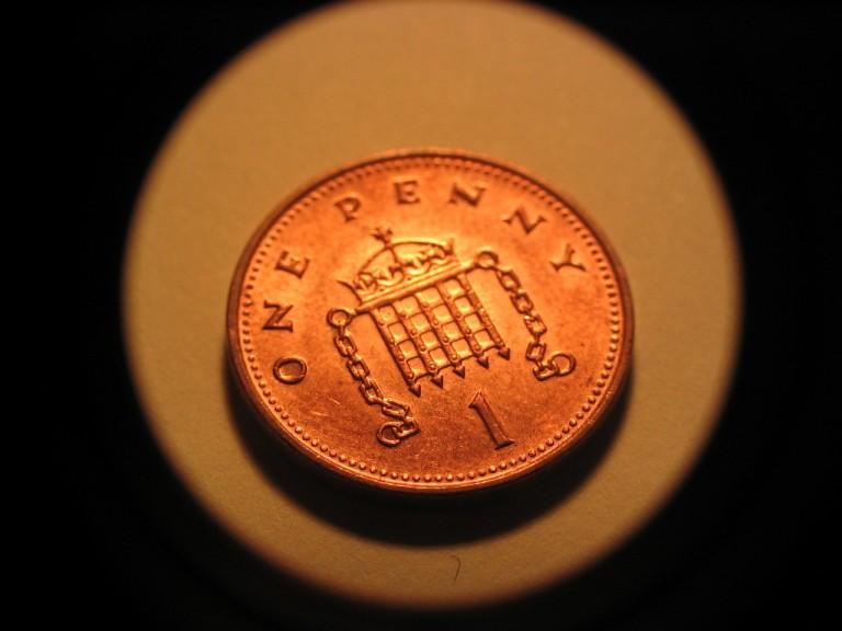 Metalowa waluta